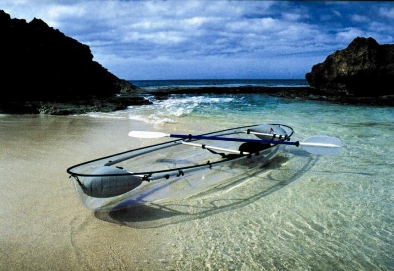 Гавайский экстрим. Надводный дайвинг на прозрачных лодках