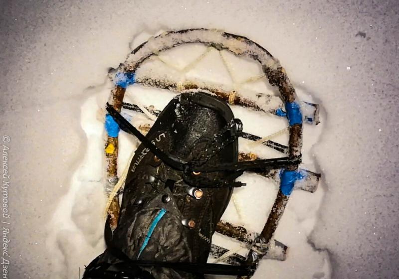 Как сделать снегоступы для похода зимой. Мой первый опыт