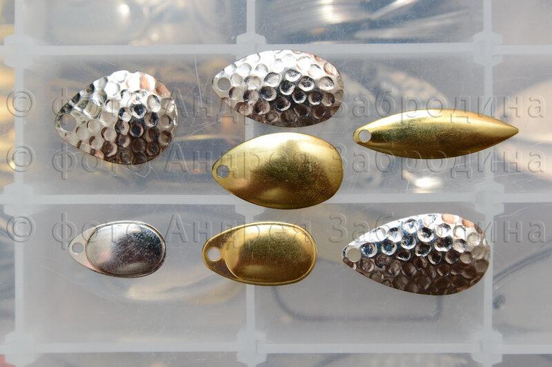 Как влияет толщина лепестка вертушки на уловистость рыбы