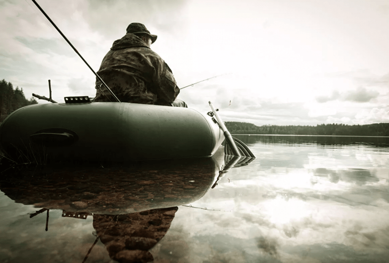 Можно ли выходить на лодке в запрет и рыбачить с острова?