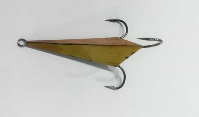 Настоящая уловистая блесна для зимней рыбалки! Такую нигде не купишь!