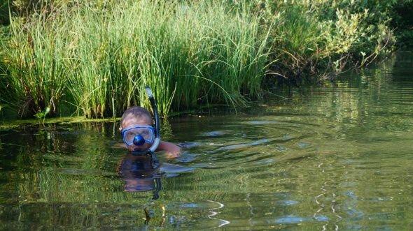 Первая рыбалка, как в детстве