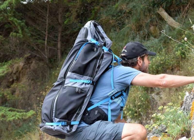 Походная раскладушка как основа рамы для рюкзака