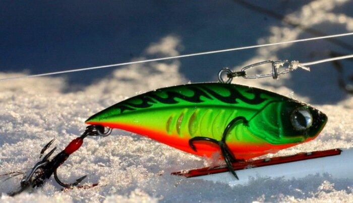 Раттлин - универсальная приманка для летней и зимней рыбалки