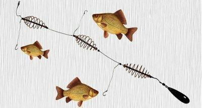 """Рыболовная снасть """"убийца карася"""" очень точно оправдывает своё название"""