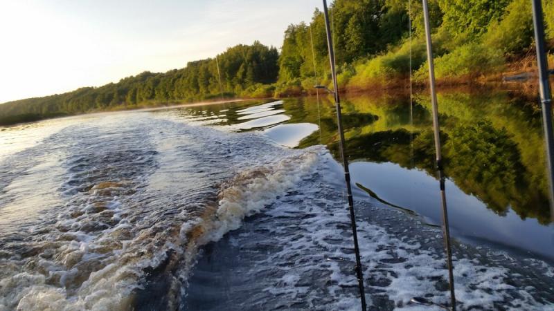 Спиннинг с лодки