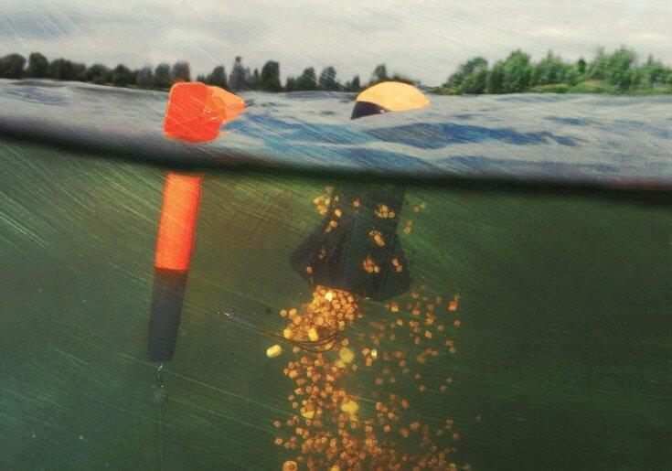 Спомб - первый помощник рыбака. Точное прикармливание на любых расстояниях