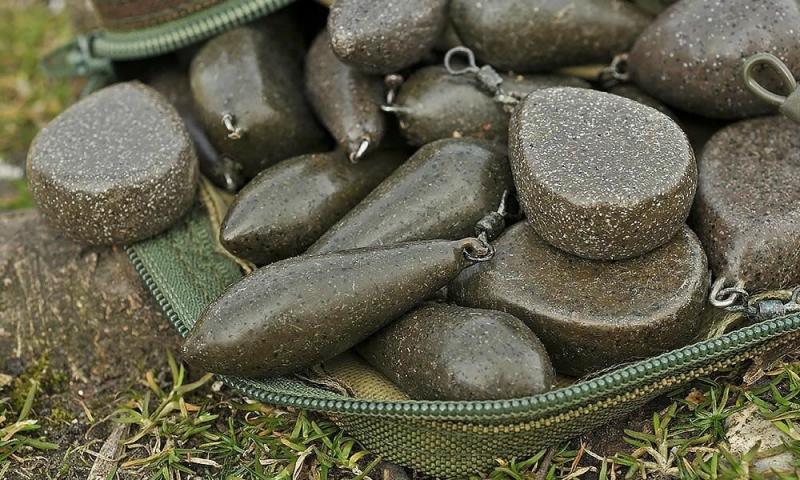 Грузила в карпфишинге (ловле карпа): выбираем правильную форму и вес