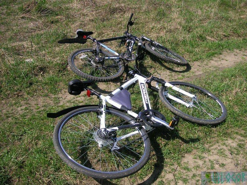 Мои велосипеды на которых я путешествую.