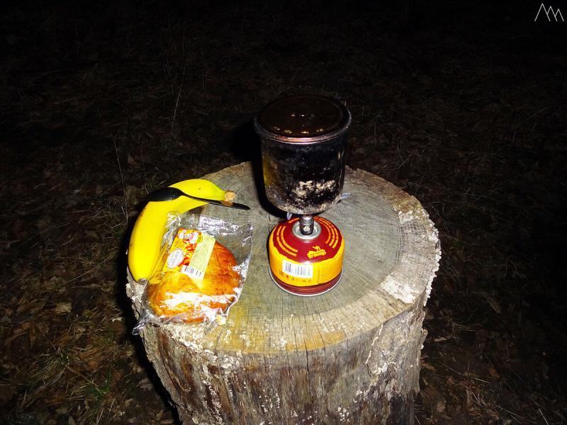 Пеший поход ночью