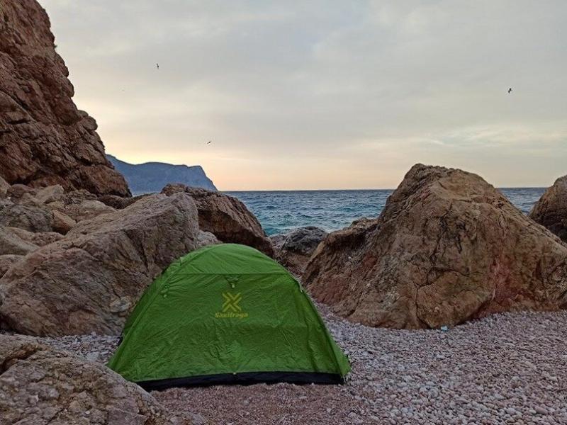 Рассказываю какую недорогую палатку беру для походов