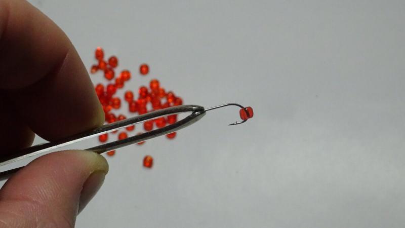Стану ли больше ловить если сделаю искусственного мотыля из бисера?