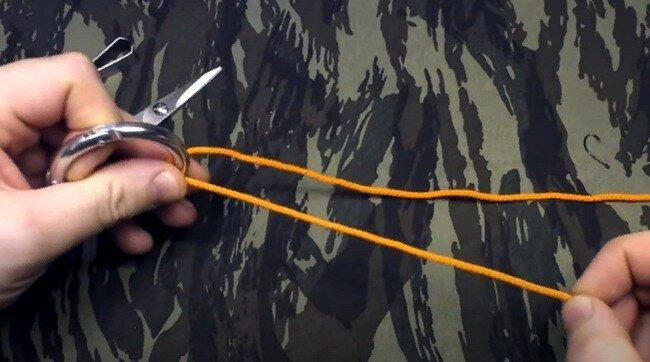 Мощный самозатягивающийся узел для рыбалки - один из моих главных рыболовных узлов