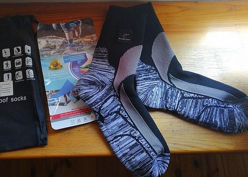 Носки, которые не промокают. Мокрые ноги после рыбалки - всё в прошлом!