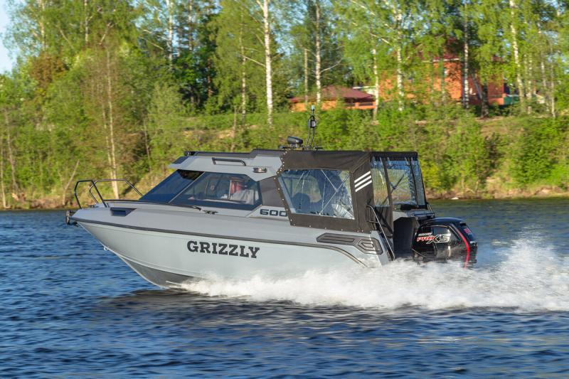 Обзор катера Grizzly 600 HT.