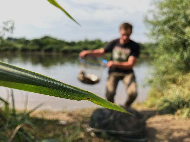 Как всегда быть с уловом на реке?