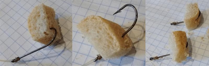 Лов карповых рыб на корочку хлеба - подзабытая уловистая насадка