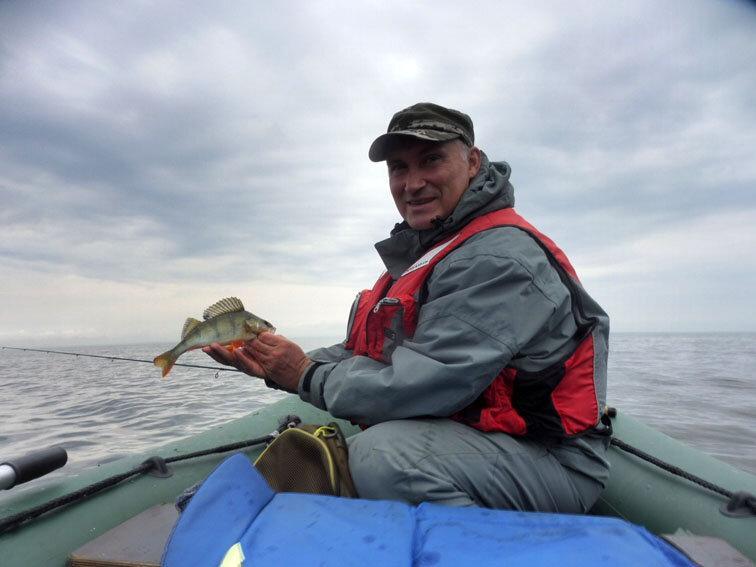 Ловля окуня на Финском заливе. Рыбалка 04.08.2020