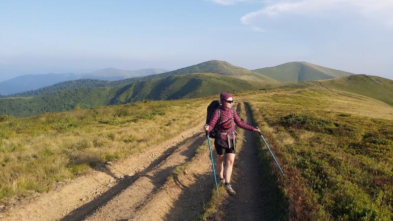 Поход длиною в 333 км: иду с рюкзаком, весом в 9 кг