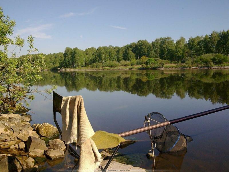Рыбалка в Подмосковье - особенности