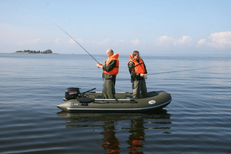 Грубые ошибки рыболовов при ловле с лодки