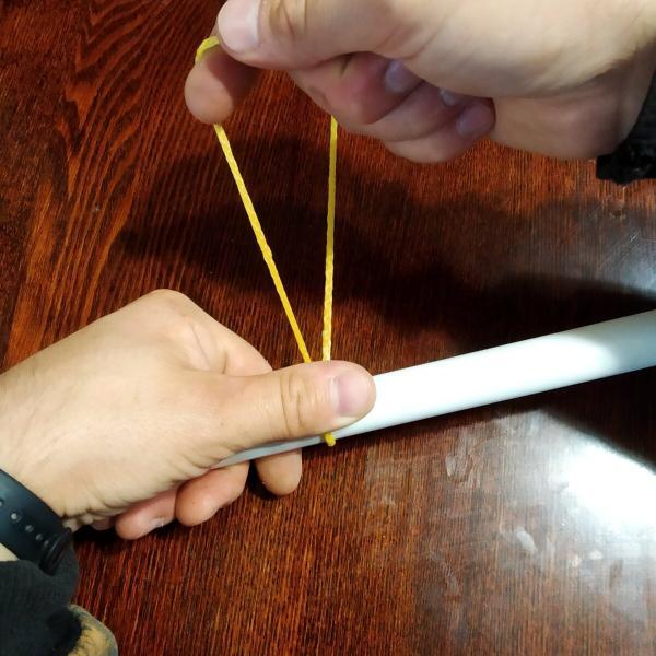 Как легко и просто завязать надежный фиксирующий узел, который не развяжется. Для вязки веников подходит идеально.