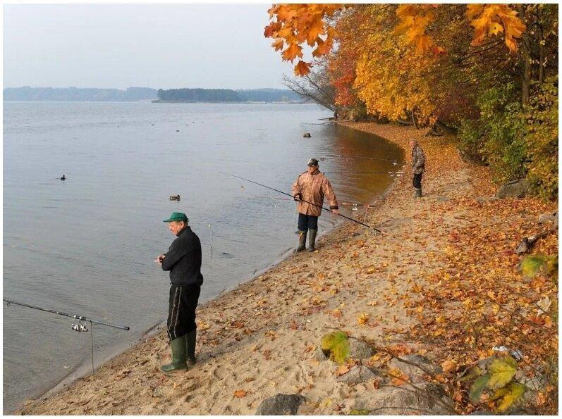 Календарь рыбака на октябрь