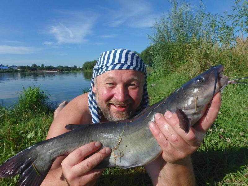 Жара и рыбалка