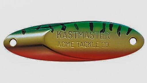 Лёгкая модернизация блесны Kastmaster для зимней ловли окуня из-подо льда