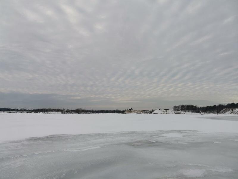 Наконец-то вышел на первый лёд!