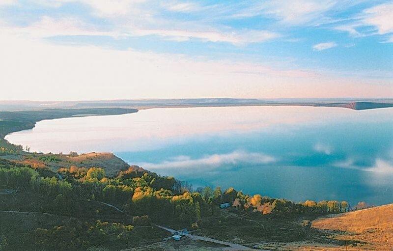Озеро Аслыкуль - лучшее место для отдыха в России