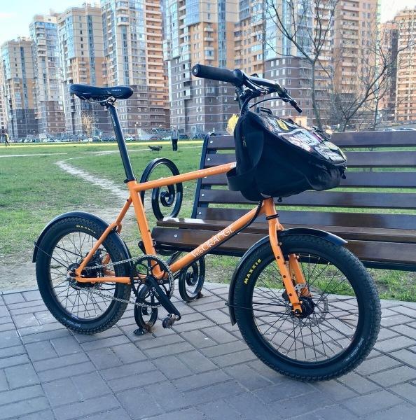 Shulz Seaford 20 – Складной туристический велосипед!