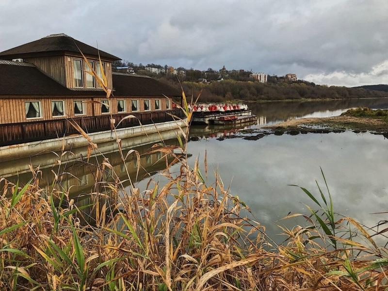 Темповая ловля уклейки в ноябре на реке Ока