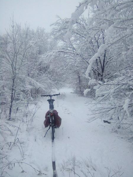 На велосипеде зимой? Переобуваемся и утепляемся - мои советы.