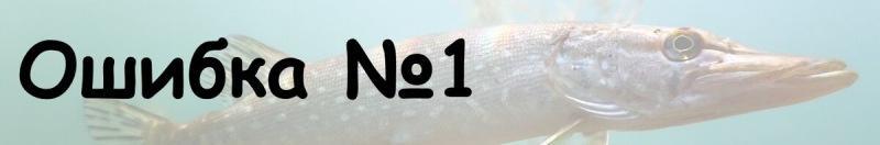 Основные 5 ошибок новичков при рыбалке щуки на жерлицы.
