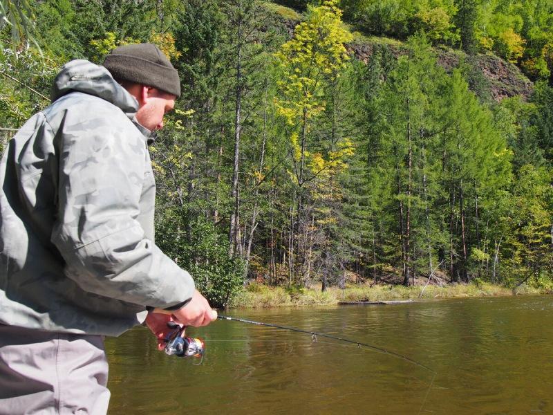 Поставил воблер поменьше, а поймал рыбу побольше