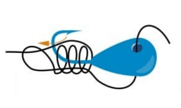 Новичку о зимней рыбалке. Как привязать мормышку к зимней удочке?
