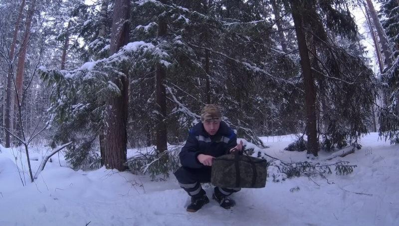Жаркая походная печь, которая уберется в ваш рюкзак  Тепло в походе и на рыбалке