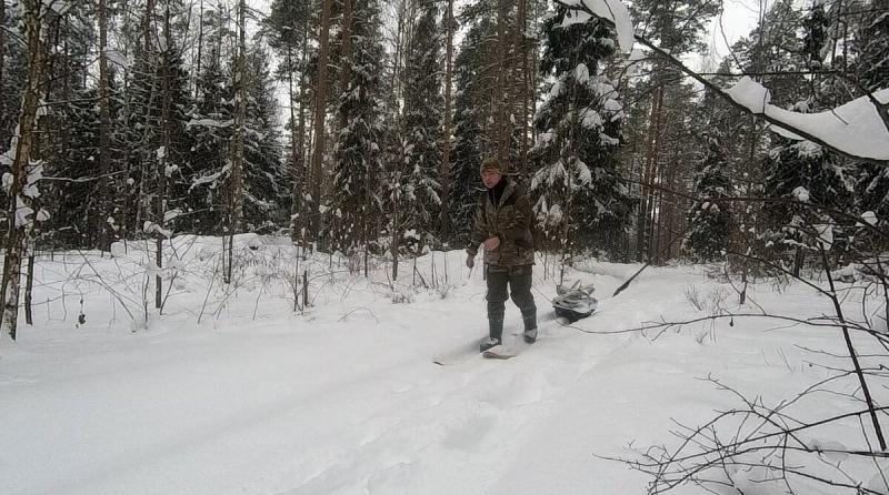 Лыжи которые служат мне уже 3 зимы — идут везде  Охотничьи лыжи для путешествий
