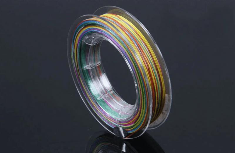 Многоцветный рыболовный шнур - где и когда он хорош