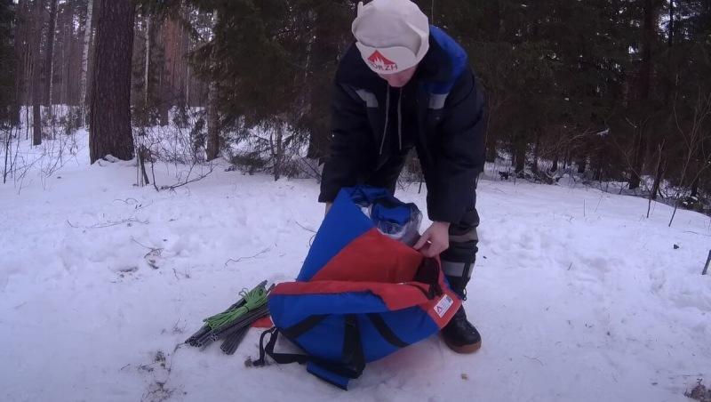 Ночевка в палатке зимой — комфорт, как дома