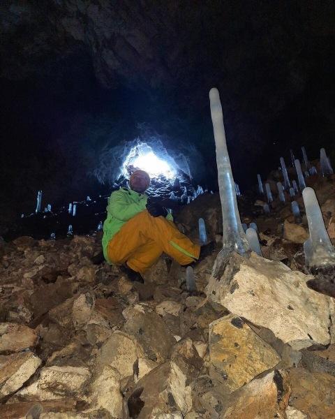 По этим пещерам можно бродить сутками. Бираканские пещеры.
