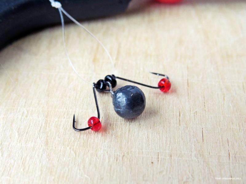 Простая оснастка для зимней рыбалки, которая может заменить любые безмотылки и насадочные мормышки. Конструкция и монтаж