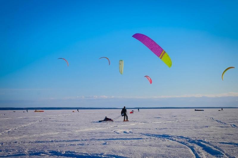 Экипировка для выживания зимой. Проходим проверку перед стартом гонки Транс-Онего Kite Enduro