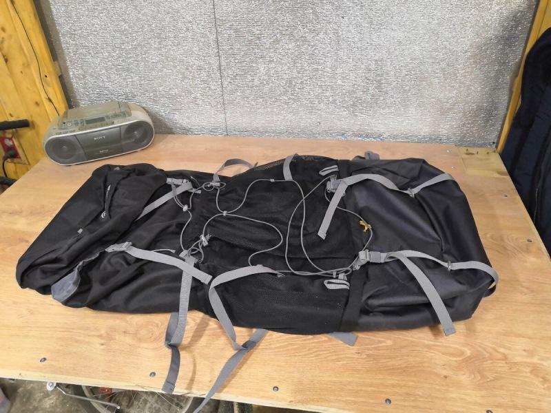Готовлюсь к летнему туристическому сезону. Купил в Спортмастере рюкзак объемом 100 литров. Влезет ли всё? Удобен ли?