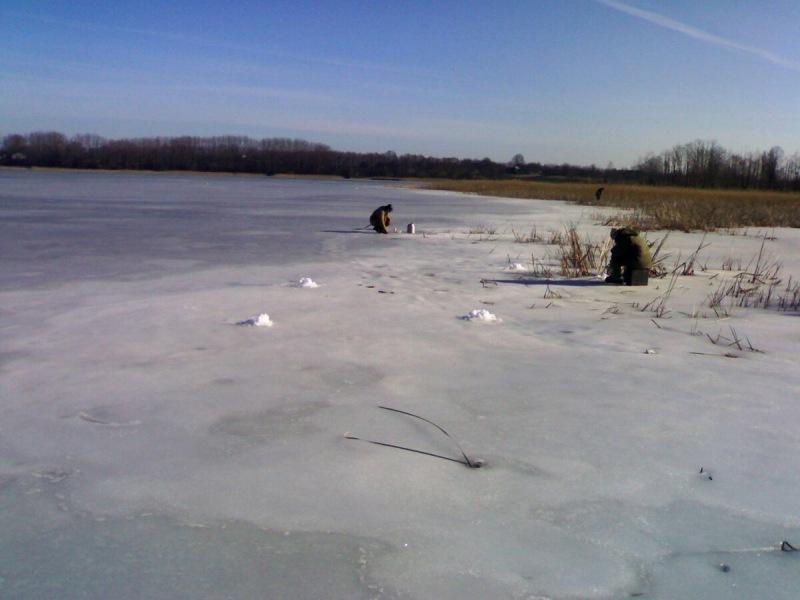 Последний лед. Закрываем сезон твердой воды!