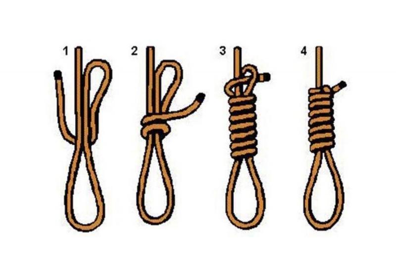 Самые простые и прочные узлы для выживания