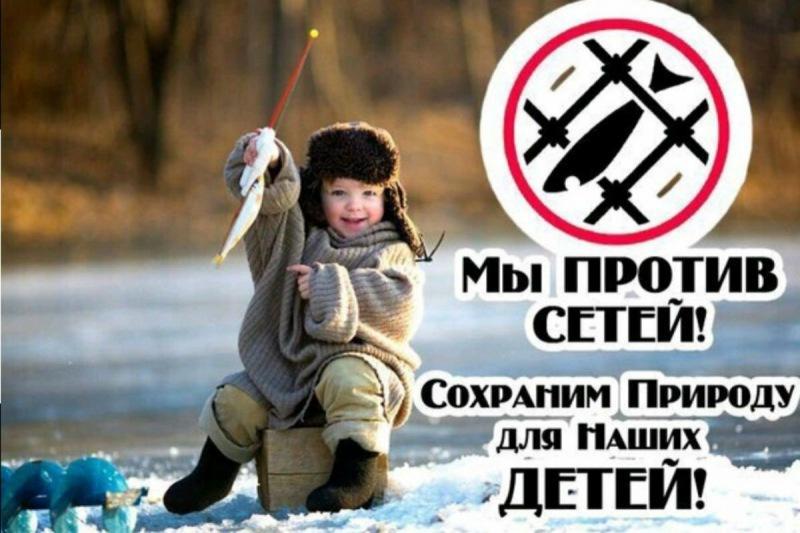 Запрещённые способы ловли рыбы и запрещенные снасти
