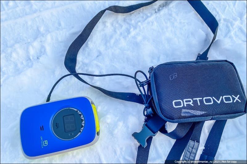 Что кладут экстремалы внутрь рюкзака, чтобы спастись, если в горах засыпет лавиной