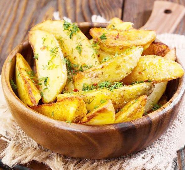 Картошка по-деревенски один из лучших рецептов.